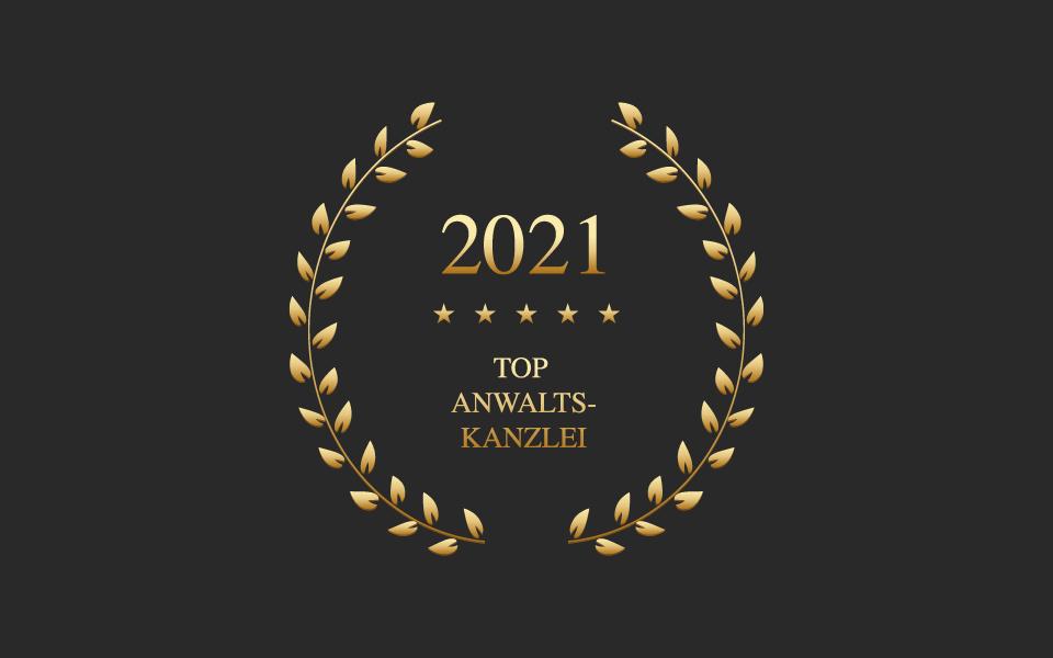 Grunder Rechtsanwälte AG, Top Anwaltskanzlei 2021 – Auszeichnung der BILANZ